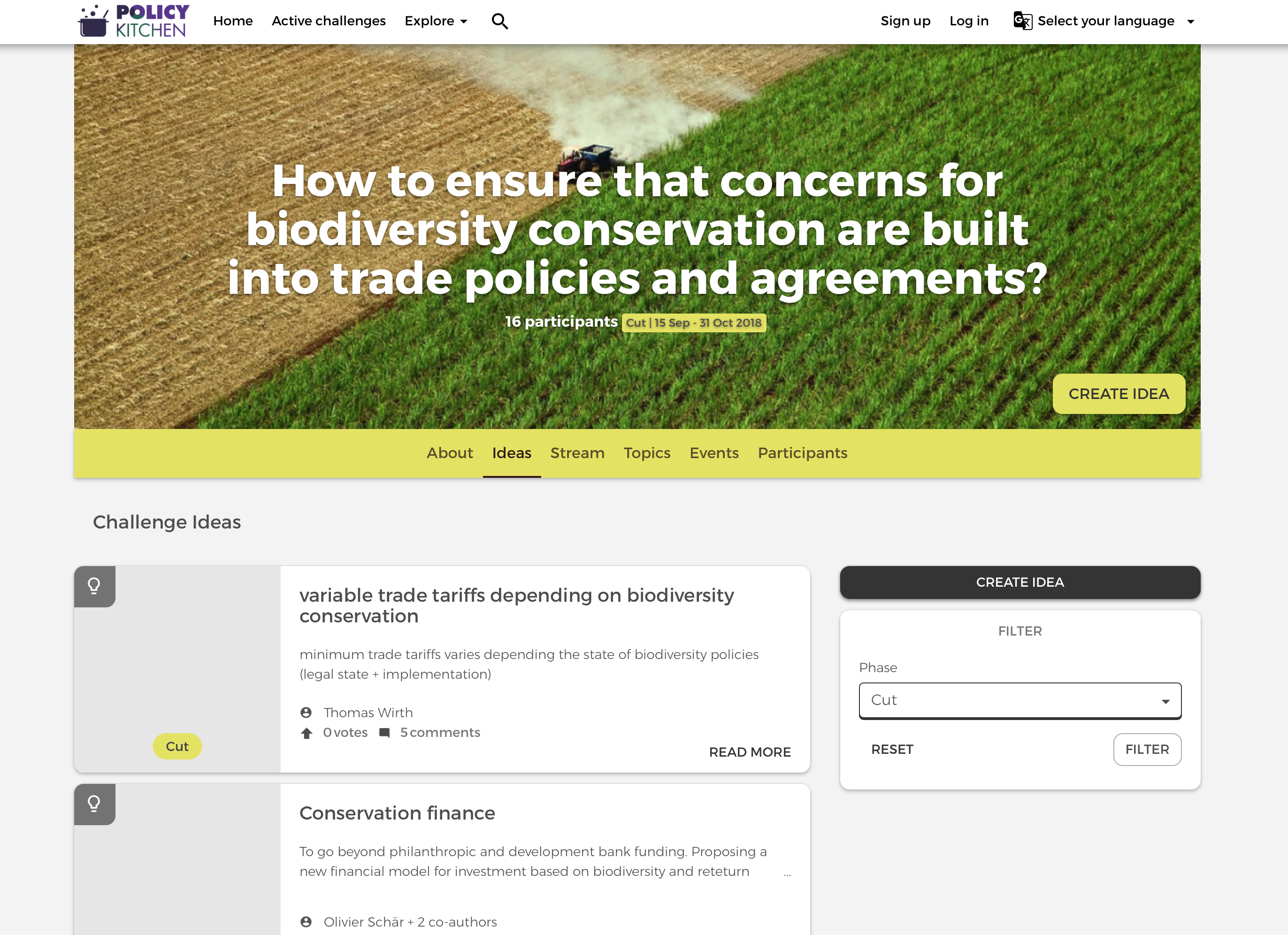 Digitalswitzerland Challenge Bet sees the light of day: Policy Kitchen is now live